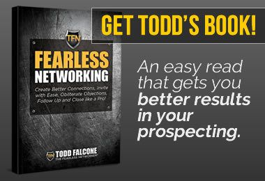 Todd Falcone Fearless Networking Book