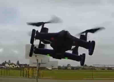 Rabing Flying Car Quadcopter Drone
