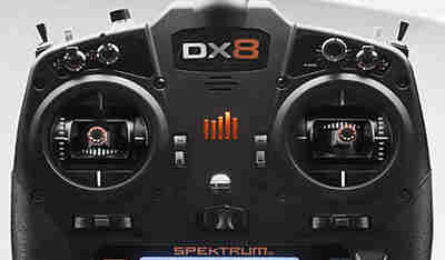 Spektrum DX8G2 Quadcopter Transmitter