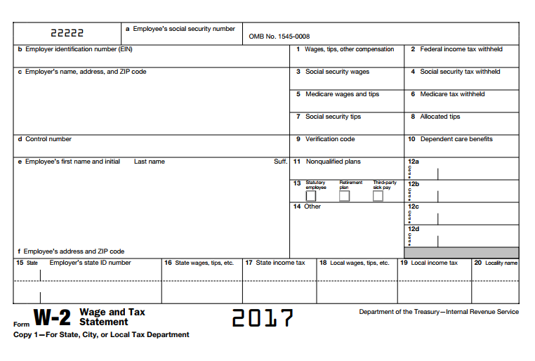 what does w2 form look like  Wage & Tax Statement (Form W-11) - What is it? Do you need it?
