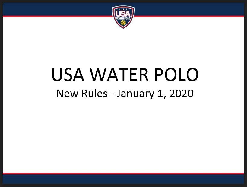 2020 Rules