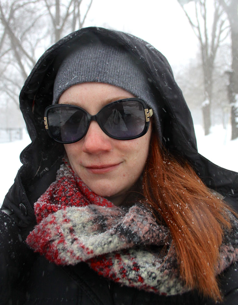 That Redhead and the 2015 Chicago Blizzard. Snow Days are the best days!