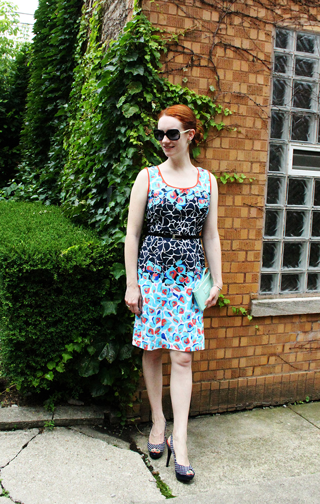 Dressy sundress look via Thred Up | That Redhead