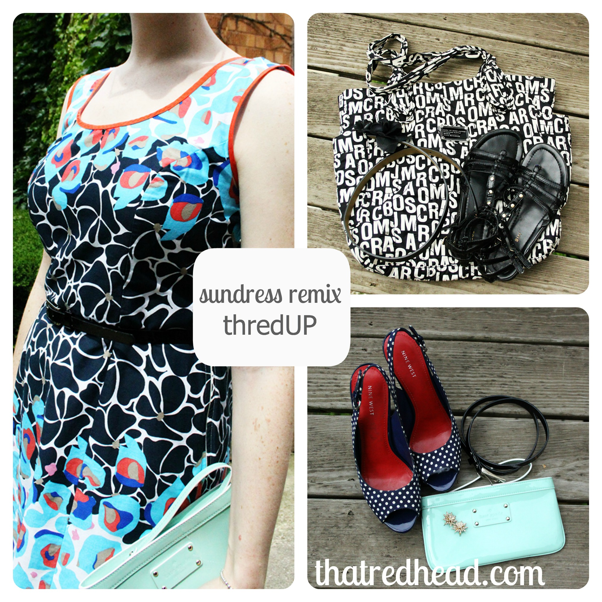 How to remix a summer sundress from day to night | That Redhead