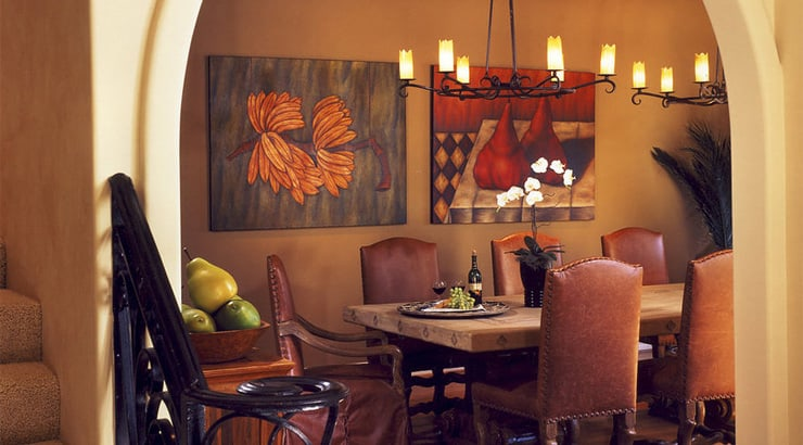 Alicia Lamar dining room design