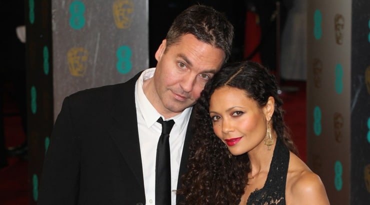 Another celebrity BWWM relationship with Ol Parker and Thandie Newton