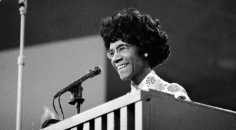 Six Famous Black Women in History Who Greatly Impacted Modern Day Life - Shirley Chisholm