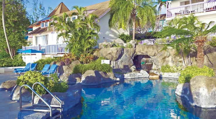 Crystal Cove Hotel In Barbados