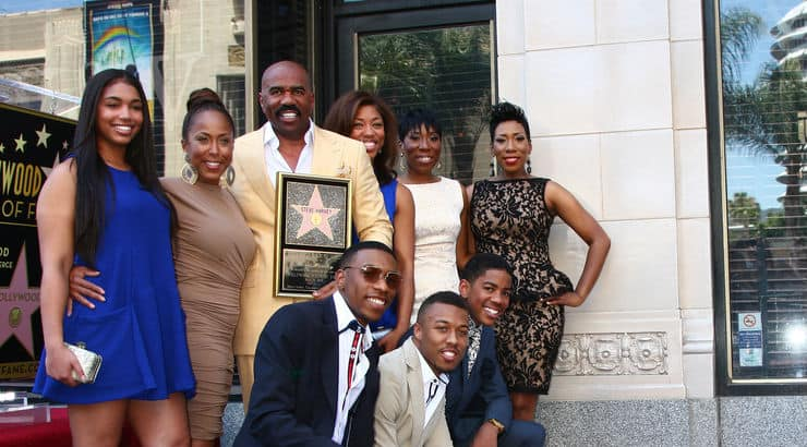 Famous African American family The Harveys
