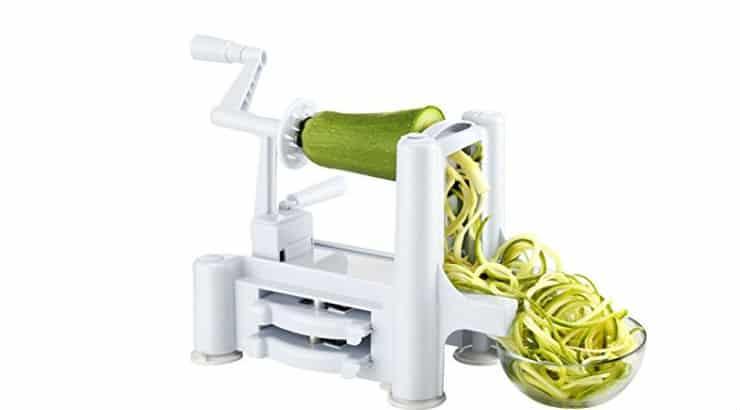 Buy a vegetable spiral slicer