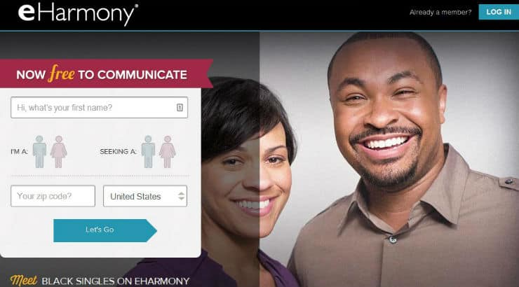 eHarmony dating site for black people