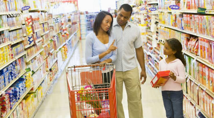 Image result for black kids grocery shopping
