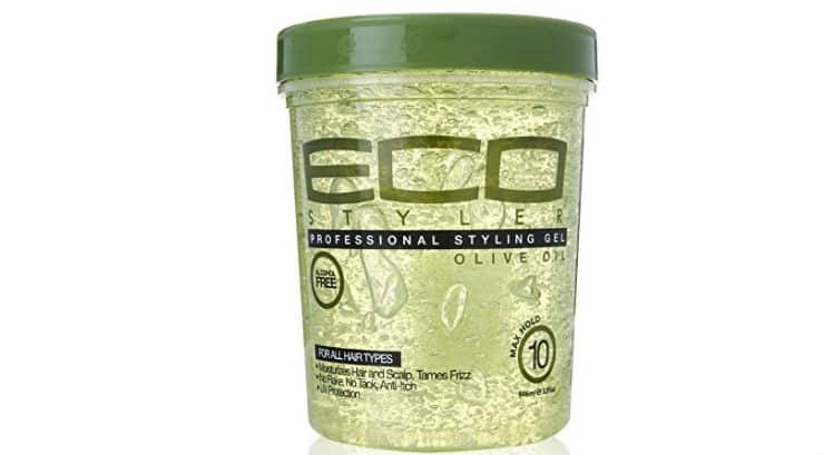 Made From 100% Pure Natural Olive Oil: Eco Style Gel, Olive