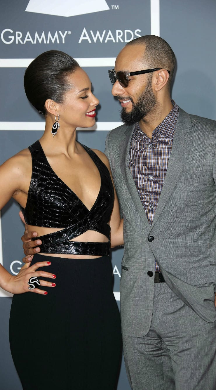 African American couple Alicia Keys And Swizz Beatz