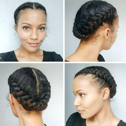 21 Easy Protective Hairstyles For Natural Hair With Images Page