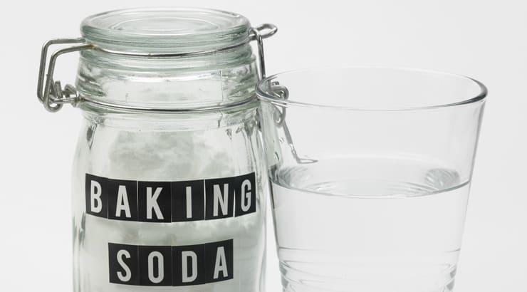 Make your own hair product with baking soda