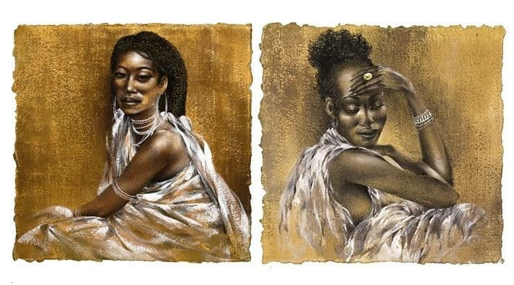 African Artwork for Black History Month