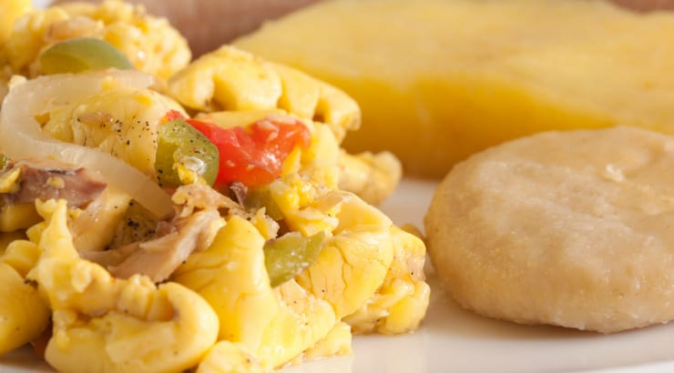 How To Make Easy Jamaican Ackee and Saltfish