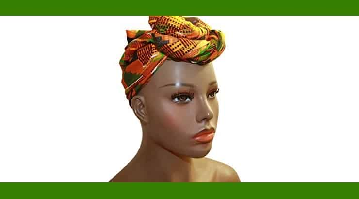 African Style Headwrap Hair Accessory For Natural Afro Hair