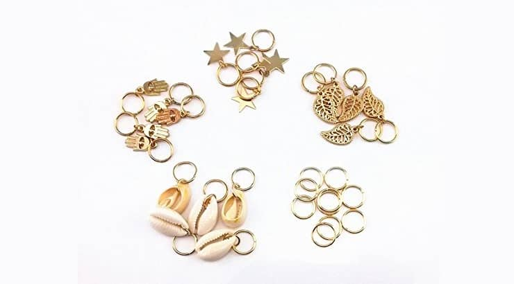 Gold Pendant Hair Accessories