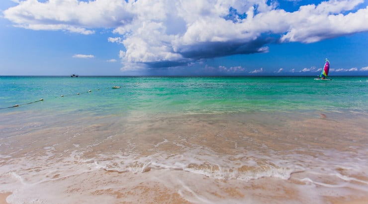 Free day out: Seven Mile Beach Jamaica