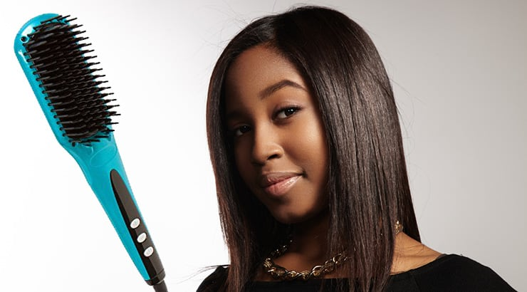 5 Best Straightening Brushes For Curly Black Natural Hair