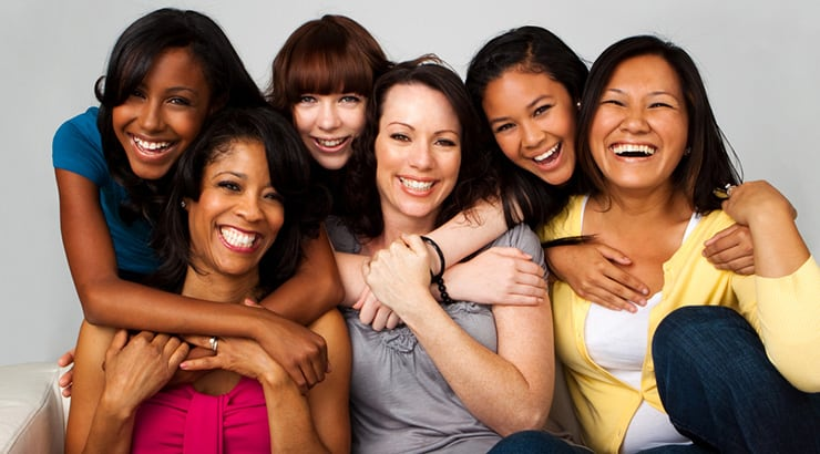 Cover FX - Group of women with different skin tones