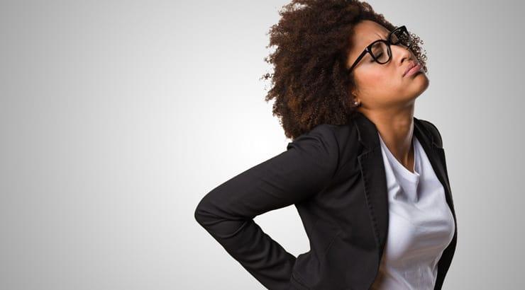 Black Woman in Professional Attire Upset