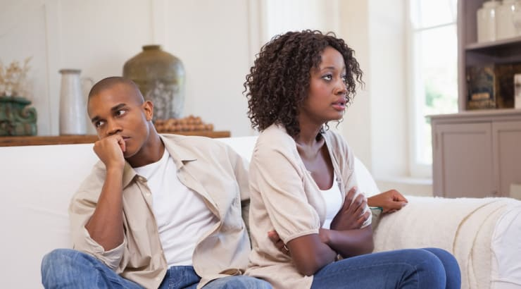A Couple Refusing To Work Together After An Act of Infidelity