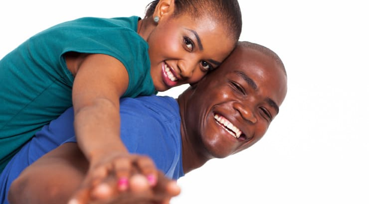 A Couple Who Is Willing To Forgive Spends Time Having Fun Together