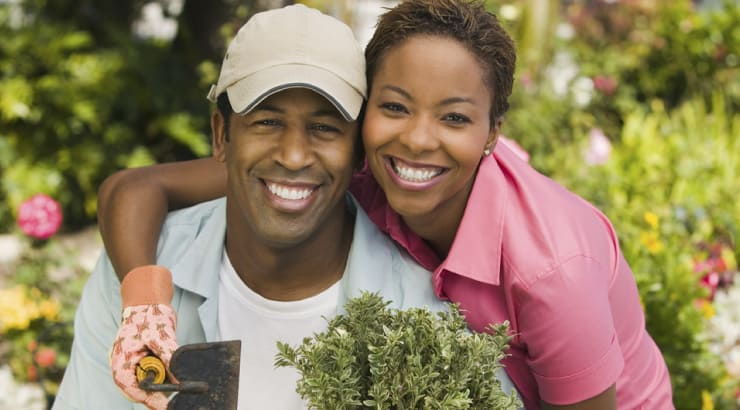 Couples Works At Putting An Infidelity Behind Them And Works Together In Their Garden