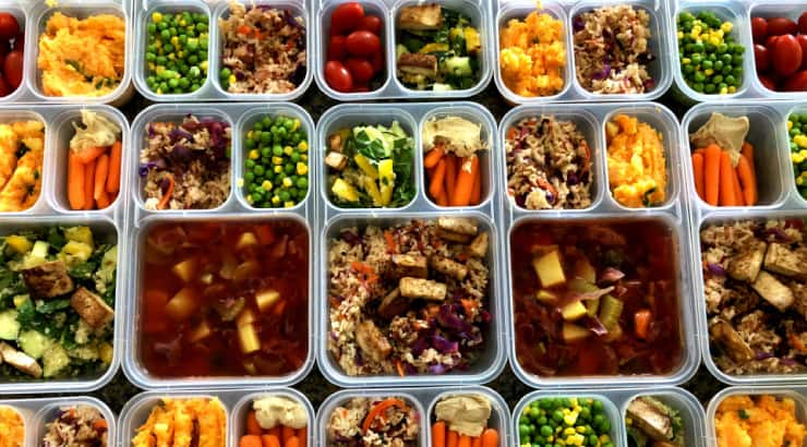 Prepare Your Meals in Advance and Store Them in Containers