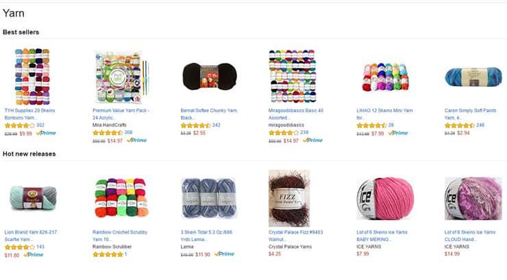 Where to buy yarn for yarn braids