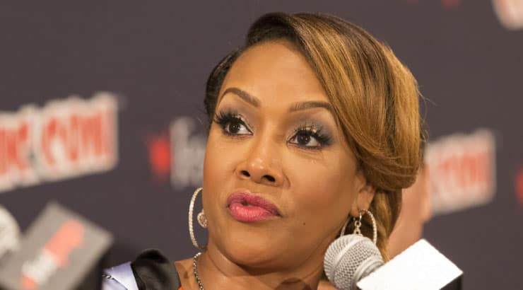 Vivica Attributes Her Success to Always Hustling