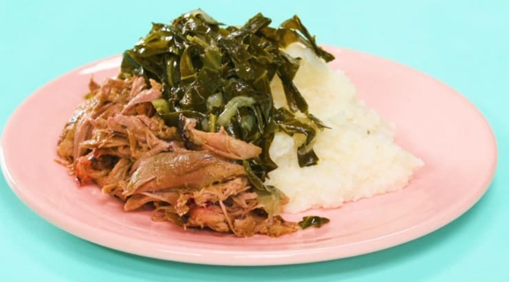 Southern Style Collard Greens Soul Food Recipe