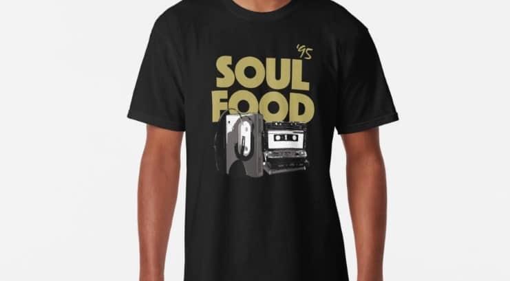 Soul Food and Hip Hop Tee Shirt