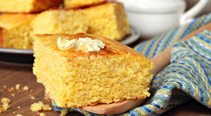 Cornmeal is the base of soul food dishes.