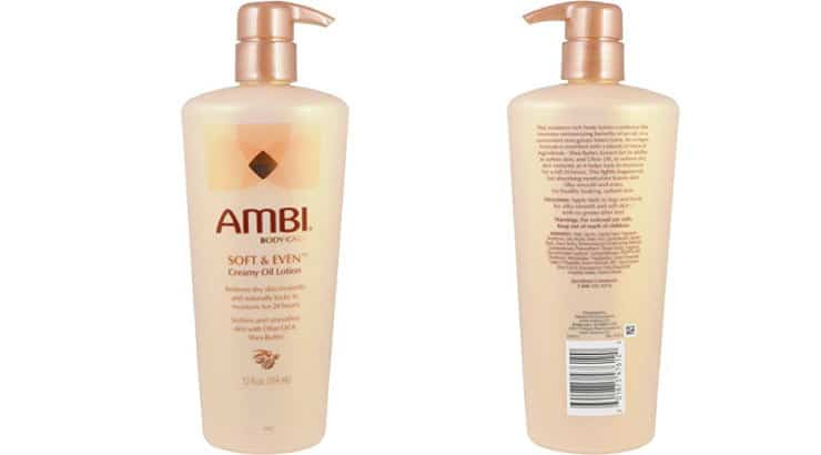 Ambi Body Care, Soft & Even Creamy Oil Lotion