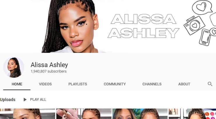 Alissa Ashley, The Black Youtuber