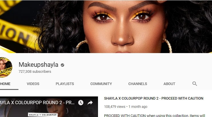 Makeupshayla Black Youtuber