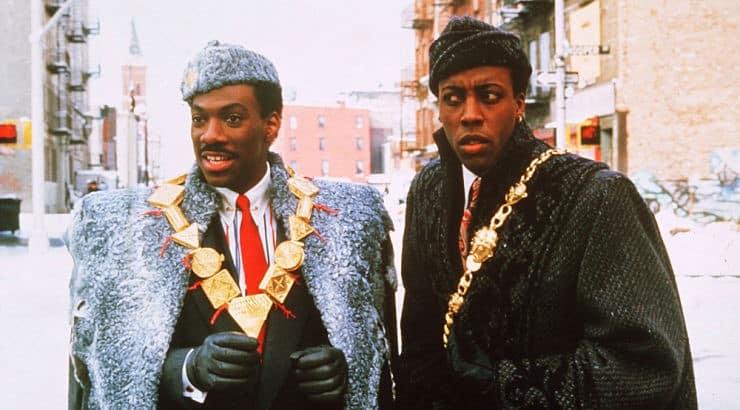 Coming to America is a popular black film starring Eddie Murphy