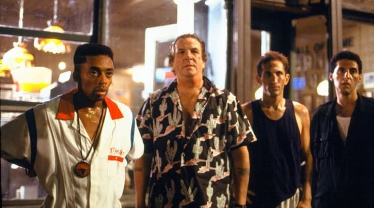 Do The Right Thing is a popular black movie starring Spike Lee