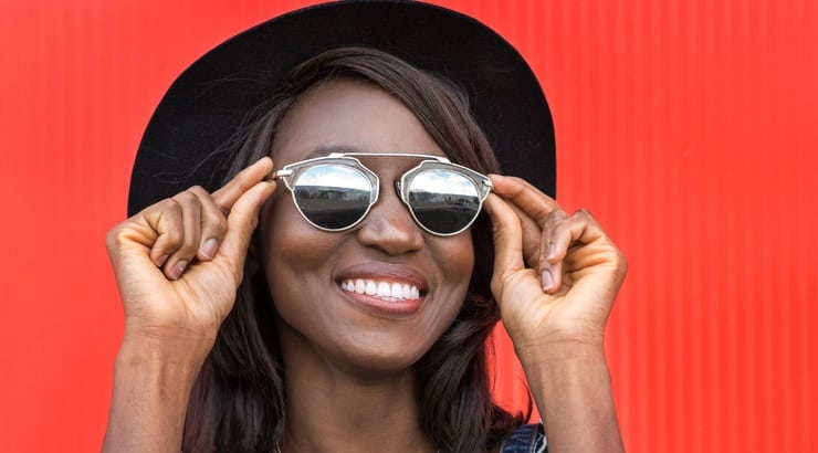 Price, style, and fit are three things for natural women to consider when shopping for hats.