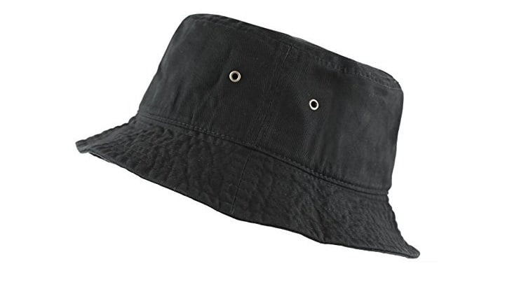 Bucket hats are a great style for black women.