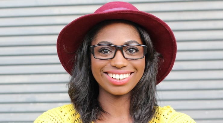 Black women with natural hair can wear a number of different style hats.