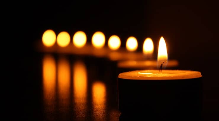 Spice up the bedroom by lighting candles