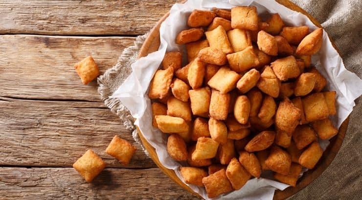 Chin Chin is a fried Nigerian treat.