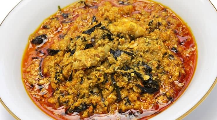 Egusi soup is a popular dish that is made from melon seeds.