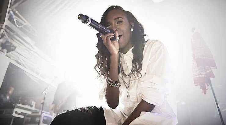 Angel Haze is a pansexual black entertainer.