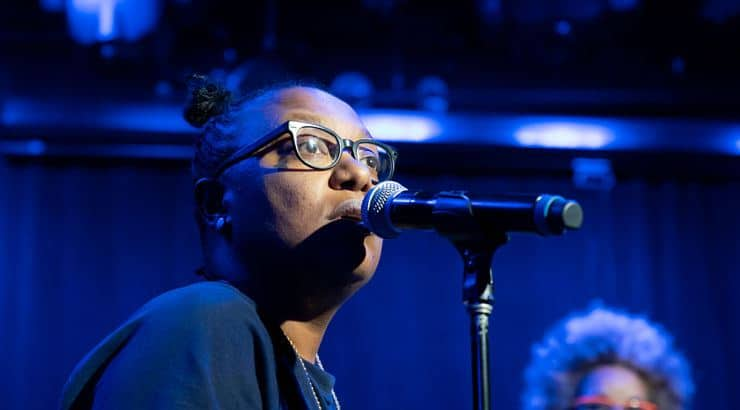 Meshelle Ndegeocello is a Grammy-nominated black lesbian.